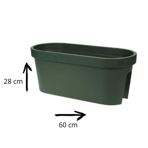 Orange85 Balkonbak Groen Plantenbak