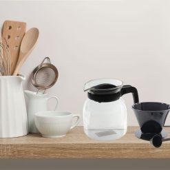 Glazen Koffiepot sfeer