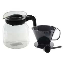 Glazen Koffiepot vooraanzicht