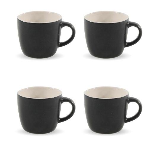Koffiekopjes 4 stuks vooraanzicht