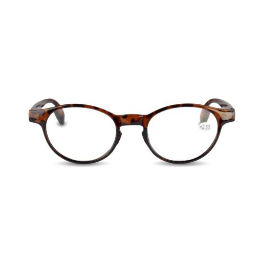 Orange85 Leesbril +2.50 Bruin 1_voor