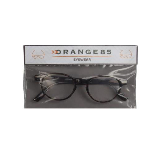 Orange85 Leesbril +2.50 Bruin 5_verpakking