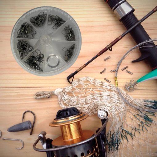 Wartelset vissen 30 stuks Sfeerafbeelding