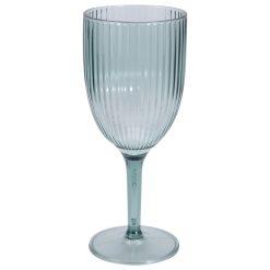 Plastic wijnglazen vooraanzicht
