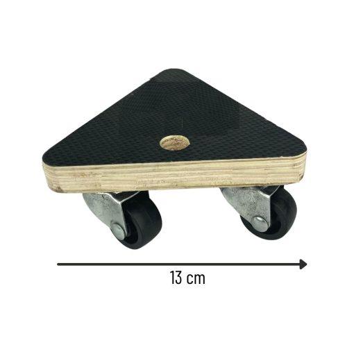 Meubelroller driehoek afmetingen