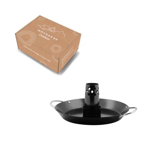 Orange85 Bbq Kiphouder Gevogeltestomer met Handvaten Zwart 5_verpakking