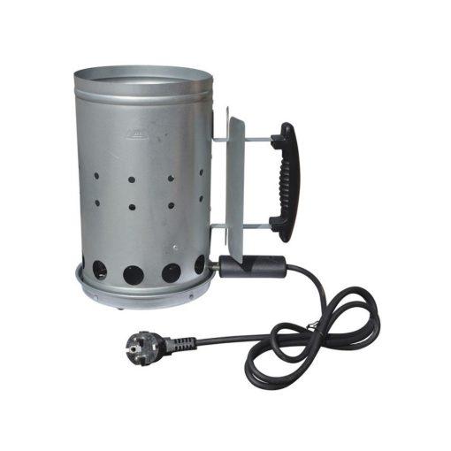 Orange85 Bbq Starter Houtskool Elektrisch Staal Zilver 1_voor