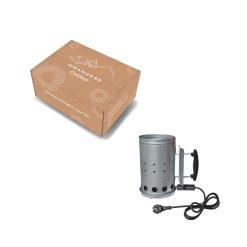 Orange85 Bbq Starter Houtskool Elektrisch Staal Zilver 6_verpakking