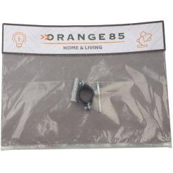 Orange85 Buisklem Zilver Voor 1 buis