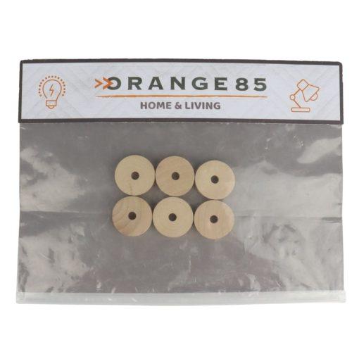 Orange85 Cederhout tegen Motten Ringen 6 stuks