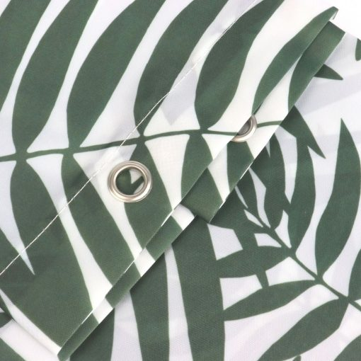 Douchegordijn met ringen jungle detail
