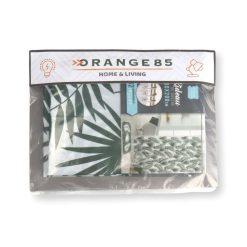 Douchegordijn met ringen jungle verpakking