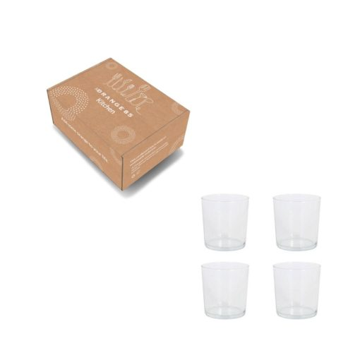 Orange85 Drinkglazen Pinta Rond 360 ml Set van 4 4_verpakking