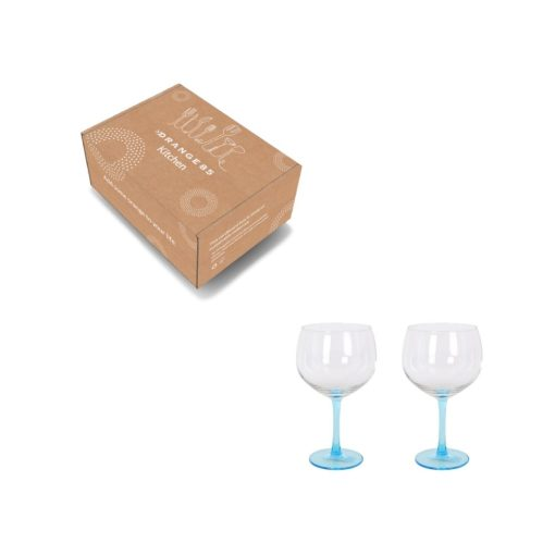 Orange85 Gin Tonic Glazen Blauw Transparant 2 stuks 4_verpakking