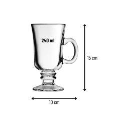 Orange85 Irish Coffee Glazen 240 ml Set van 2 3_detail