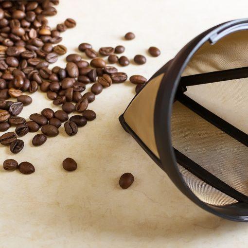 Koffiefilter permanent sfeerbeeld