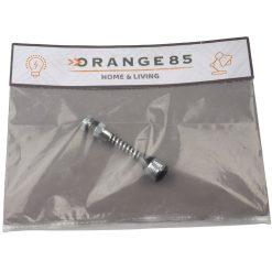 Orange85 Kraan Opzetstuk Zilver 15 cm Kunststof
