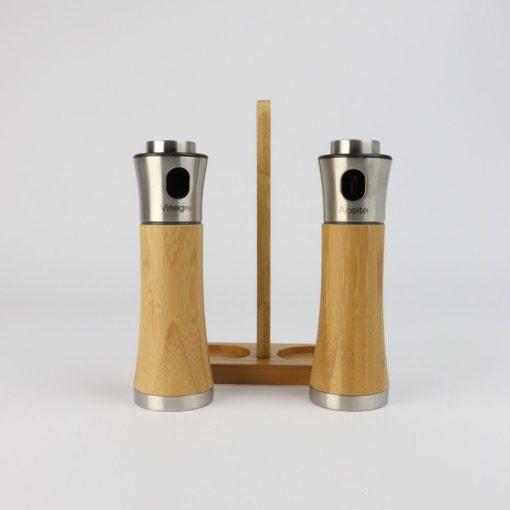 Orange85 Olie en Azijnstel Spray met Houder Bamboe 3_detail
