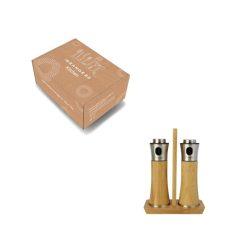 Orange85 Olie en Azijnstel Spray met Houder Bamboe 5_verpakking