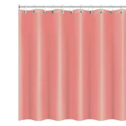 Roze douchegordijn vooraanzicht