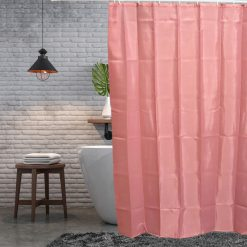 Roze douchegordijn sfeerbeeld