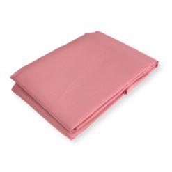 Roze douchegordijn zijaanzicht