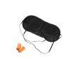Orange85 Slaapmasker met Oordopjes Zijde Zwart 1_voor