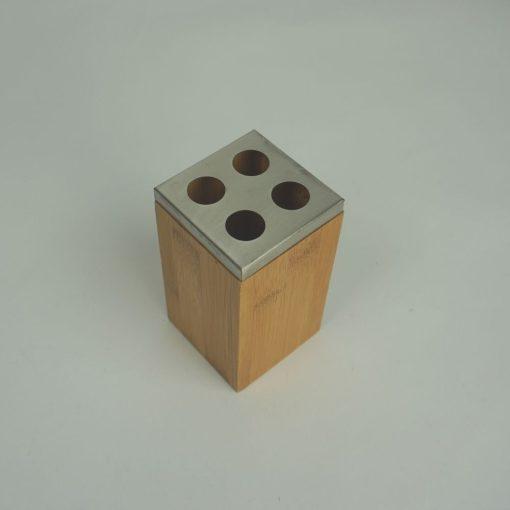 Orange85 Tandenborstelhouder Bamboe 12 cm 2_detail