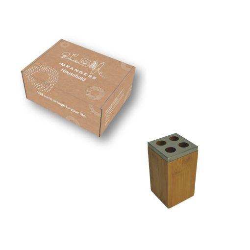 Orange85 Tandenborstelhouder Bamboe 12 cm 5_verpakking