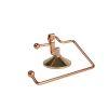 Orange85 Toiletrolhouder met Zuignap Rosegoud
