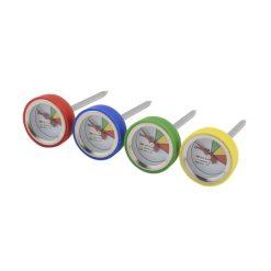 Orange85 Vleesthermometer Bbq Groen Geel Blauw Rood Set van 4 1_voor