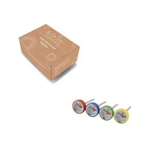 Orange85 Vleesthermometer Bbq Groen Geel Blauw Rood Set van 4 4_verpakking