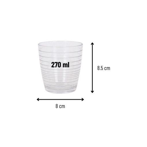 Orange85 Waterglazen 270 ml Set van 6 3_detail