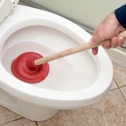 wc ontstoppers situatiebeeld