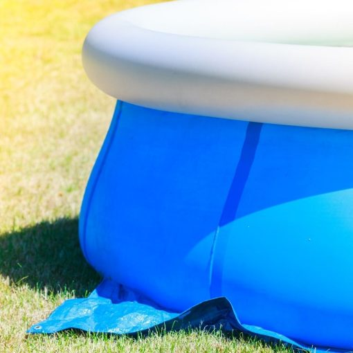 zwembad afdekzeil sfeerbeeld
