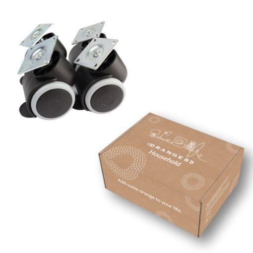 Met verpakking Zwenkwielen Set