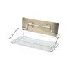 Alpina Badkamerrek Hangend Zilver 25x10x9 cm Metaal Badkamer Accessoires 1_voor