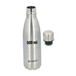 Alpina Thermosfles 500ml Zilver Isoleerfles Kampeer Accessoires 2_detail