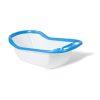 Orange85 Baby Badje met Standaard Verzorging Blauw en Wit