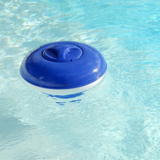 Orange85 Chloordrijver Zwembad Blauw 22 cm