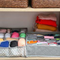 Orange85 Kast Organizer 16 vakken ondergoed en sokken 35x27x9cm