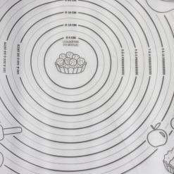Bakmat Siliconen Wit 51 x 42 x 0,1 cm Deegmat Kookaccessoires