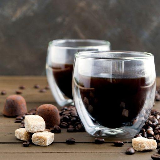 Dubbelwandige espresso glazen sfeerbeeld