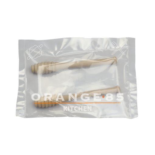 Orange85 Honinglepel Hout 2 Stuks 15 cm Honingdipper Kookgerei (2)_verpakking