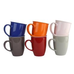 Orange85 Koffiekopjes 6 Stuks Diverse Kleuren 320 ml