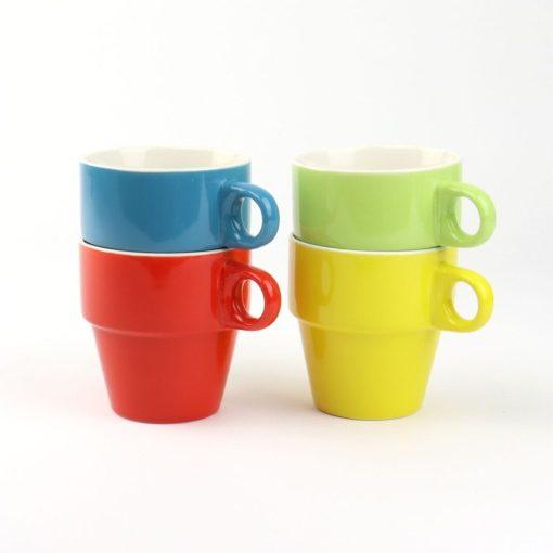 Koffiekopjes Stapelbaar kopjes