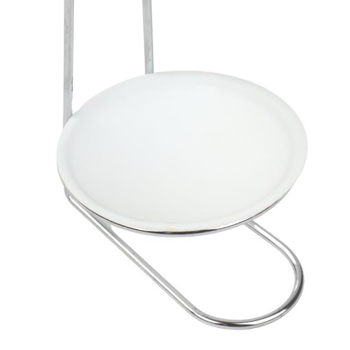 Lepelhouder Keramiek Wit 13,5 x 10 x 17,5 cm met Ondersteuning Keukengerei Houder