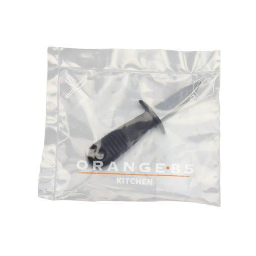 Orange85 Oestermes RVS 14 x 5 x 3 cm Zwart Oesteropener Keukengerei 5_verpakking