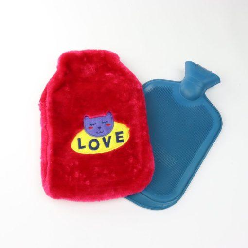 Orange85 Warmwaterkruik met Hoes Kat Roze 1,8 Liter Hot Water Bottle 4_detail