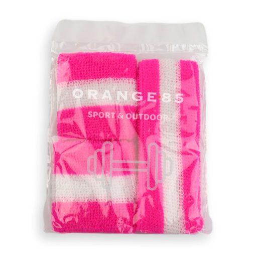 Zweetbandjes Roze verpakking